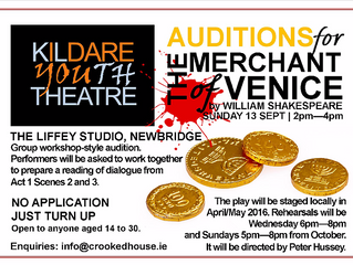 Auditions: Merchant of Venice