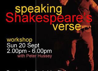 Public Shakespeare workshop