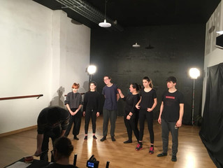 First videos recorded! #DramaforYouthWork