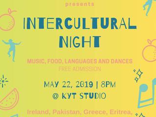 #TheRoom: Intercultural Night!