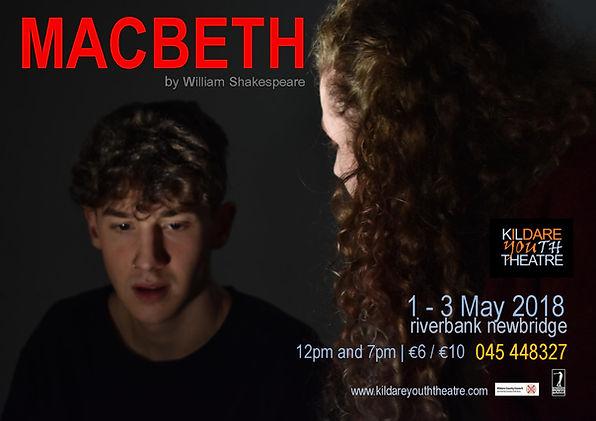 Macbeth 2018 Poster