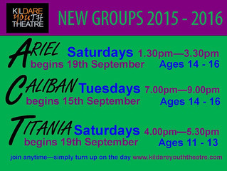 New groups 2015/2016