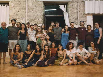 Kildare Youth Theatre in Syros for 'Inspire' Project