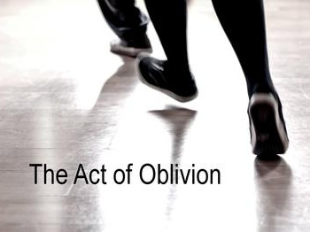 The Act Of Oblivion - 10&11/02/2017