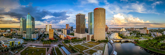 Downtown Tampa Panorama