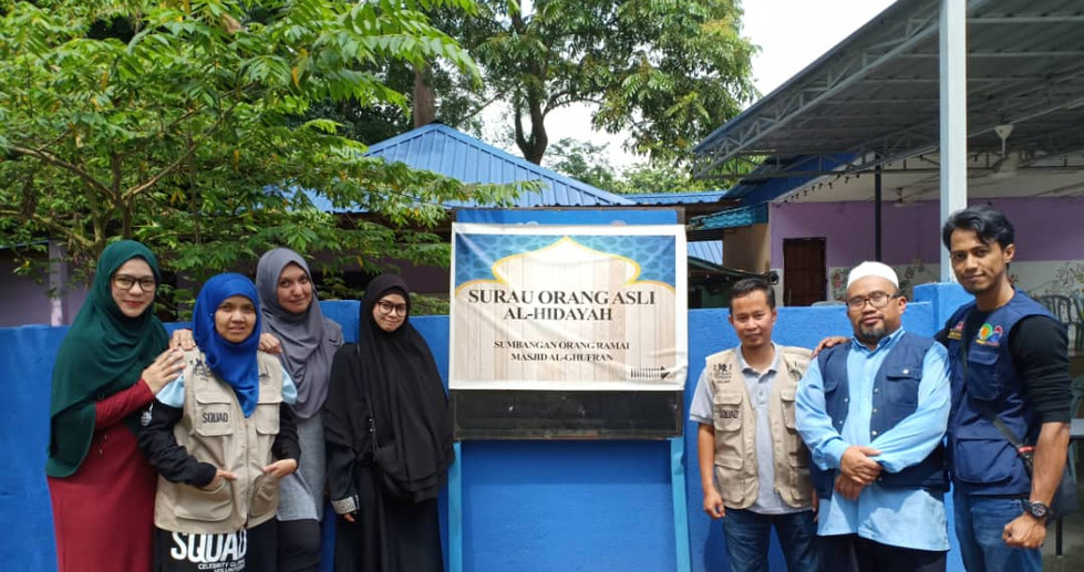 Lokasi majlis adalah di Kampung Orang Asli di Kg Bukit Kala Bt 12 Gombak
