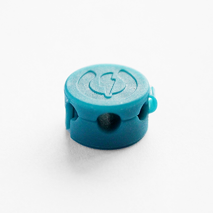 Magnetic Cable Clip - Pair in Blue