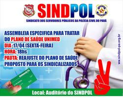 SINDPOL INFORMA SOBRE PLANO DE SAÚDE