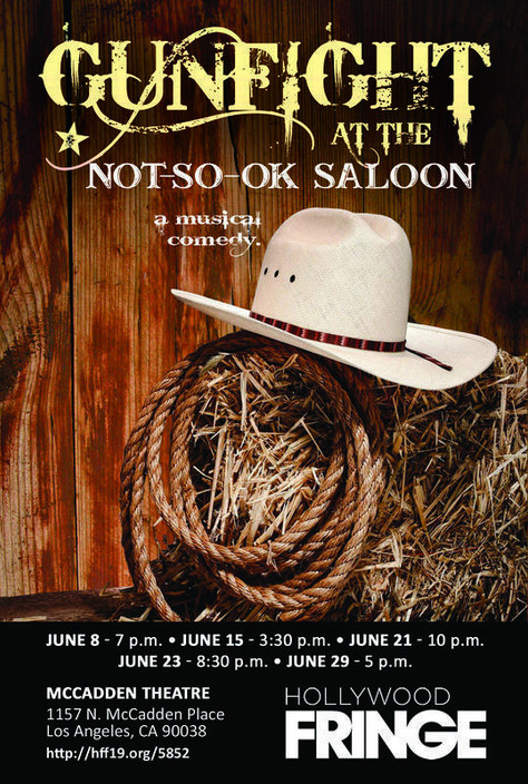 Gunfight at the Not-So-Ok Saloon! *Pick of the Fringe!!!*