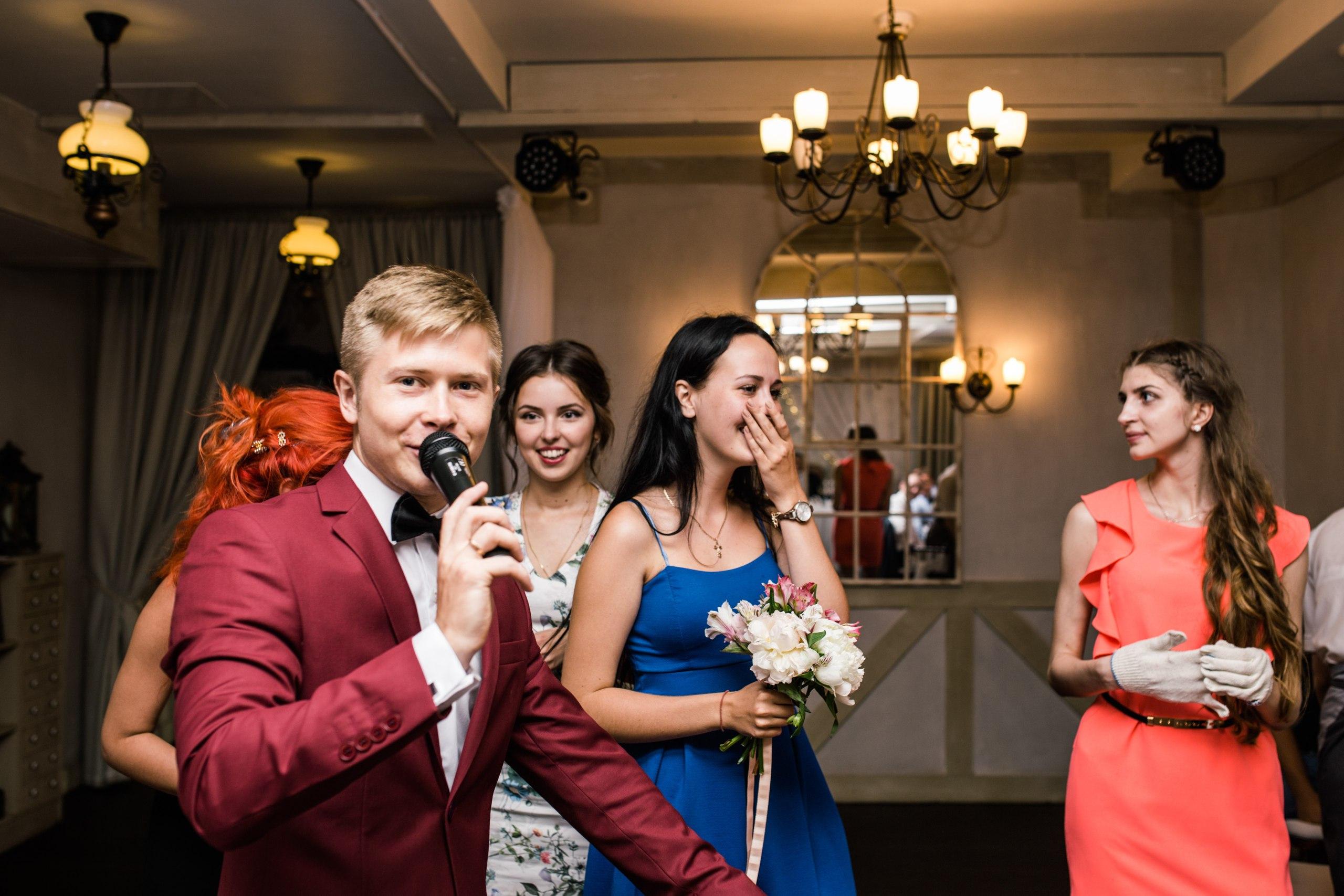 Ведущий на свадьбу спб
