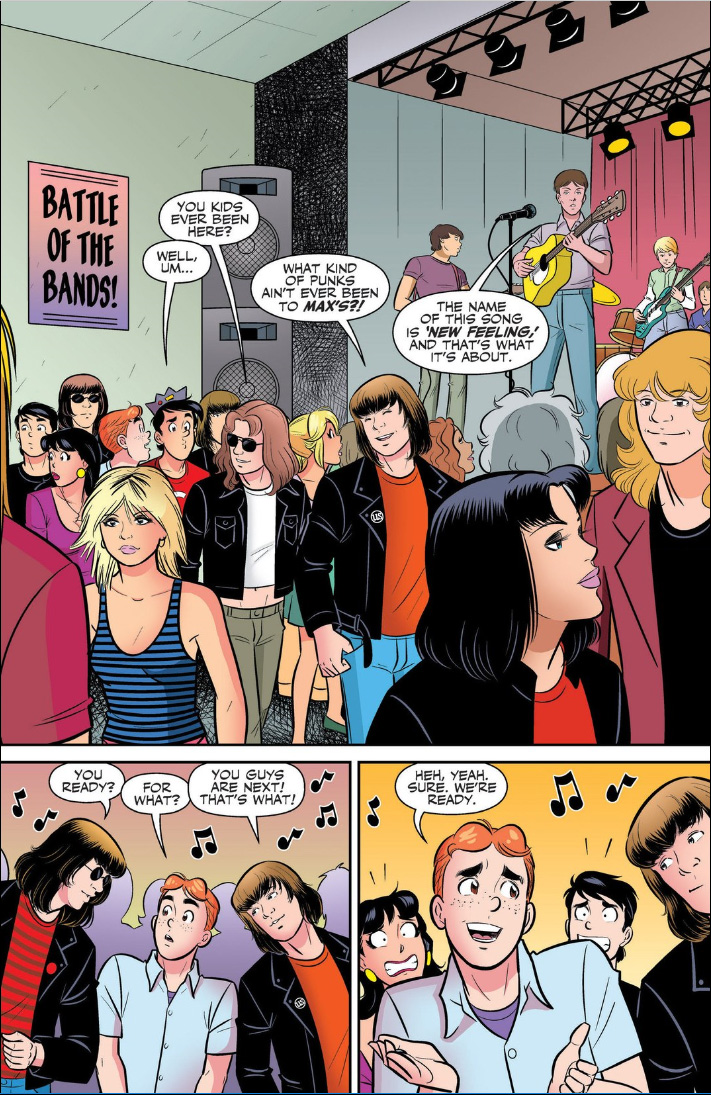 Archie Meets Ramones sample page 1