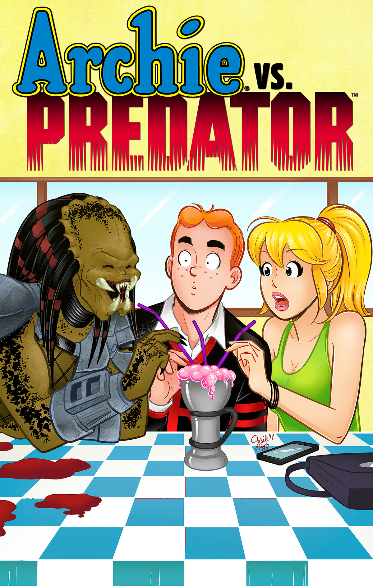 Archie Vs Predator by Gisele