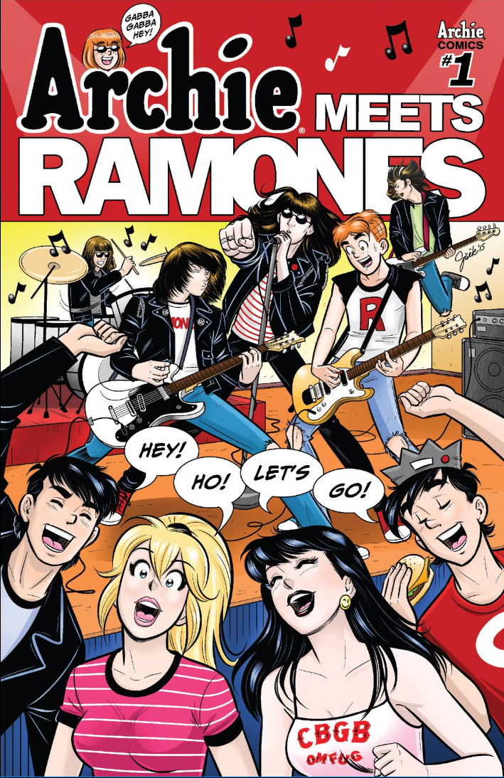 Archie Meets Ramones main cover
