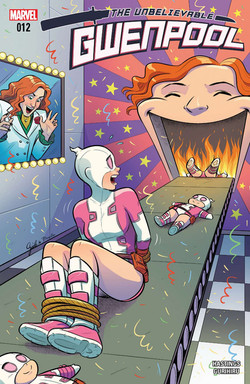 Gwenpool cover issue 12