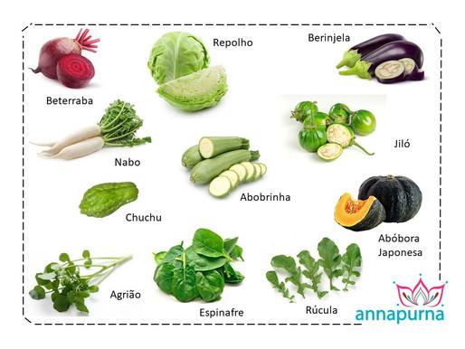 Legumes e Verduras de Outono