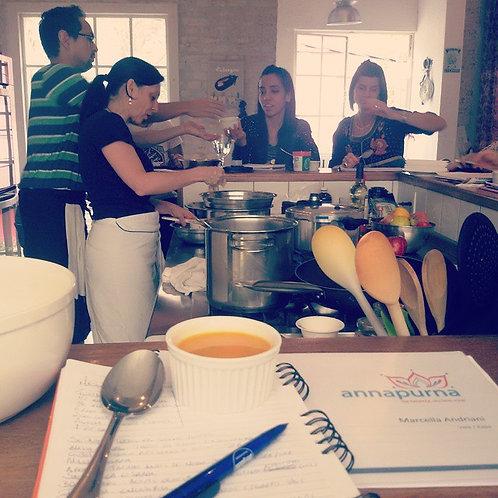 Workshop Culinária Ayurvédica - Presencial