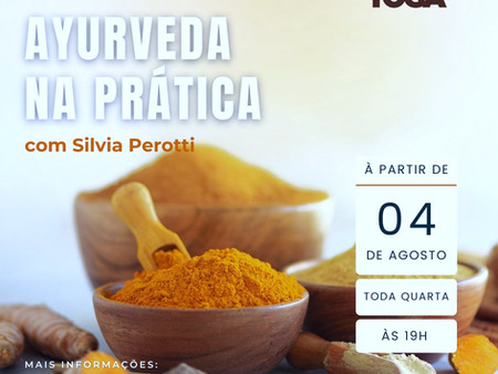 CURSO PRÁTICO DE AYURVEDA