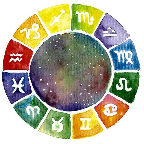Curso de Astrologia Ocidental Iniciantes - Online via Zoom