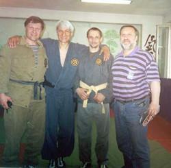 Вадим Вязьмин с учениками