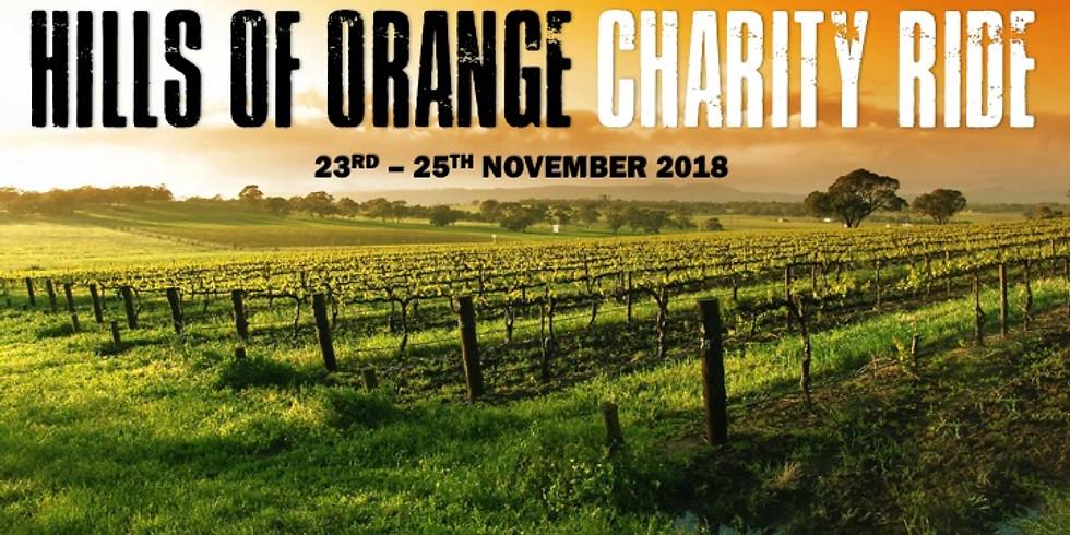 Hills of Orange Charity Ride