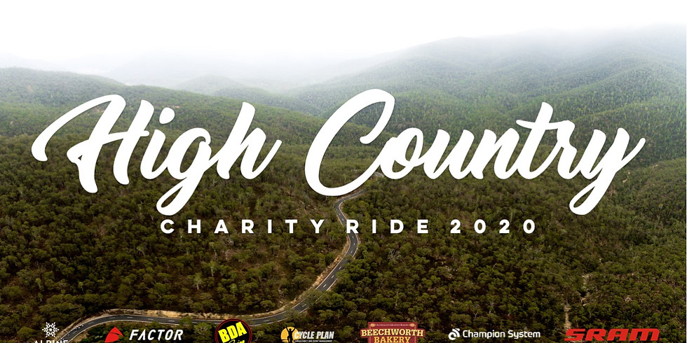 High Country Charity Ride 2020