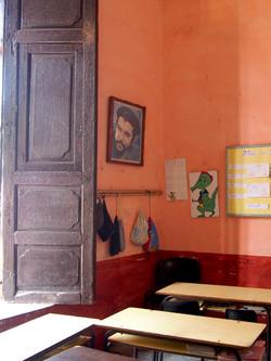 CUBA. INSIDE A SCHOOL