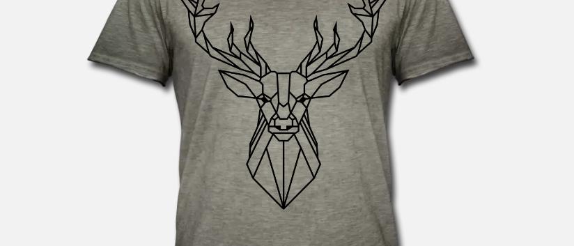 "Vintage Shirt ""Deer"""