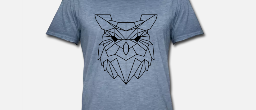 "Vintage Shirt ""Owl"""