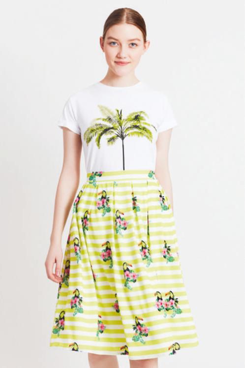 LA-SK222PELICAN Skirt