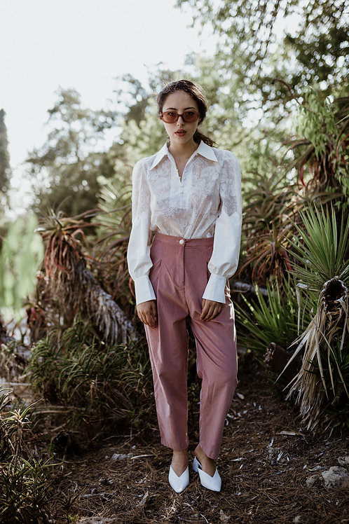 Pink Cord Trousers