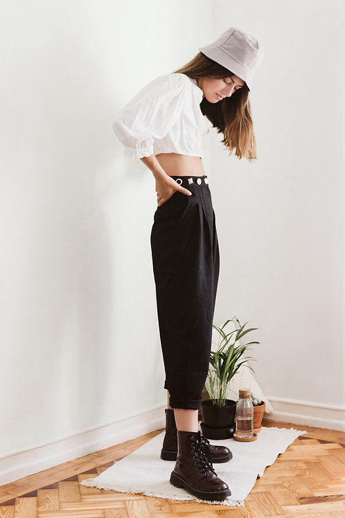 Back Track Pleat Trousers