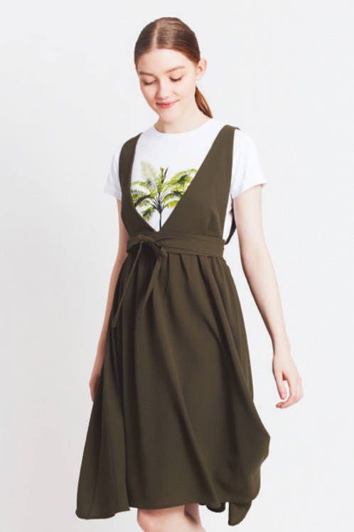LA-DR536K Overall Dress