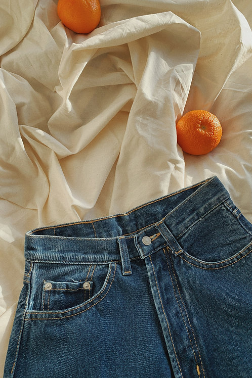 Vintage Dark Denim Jeans
