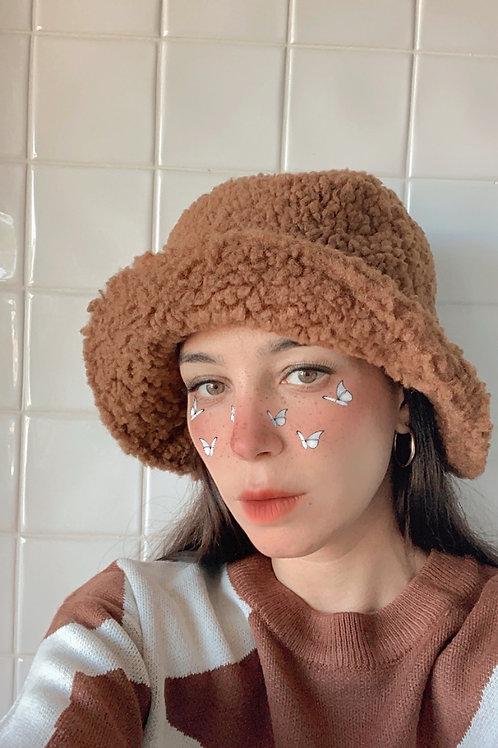 Faux Sheep Fur Bucket Hat