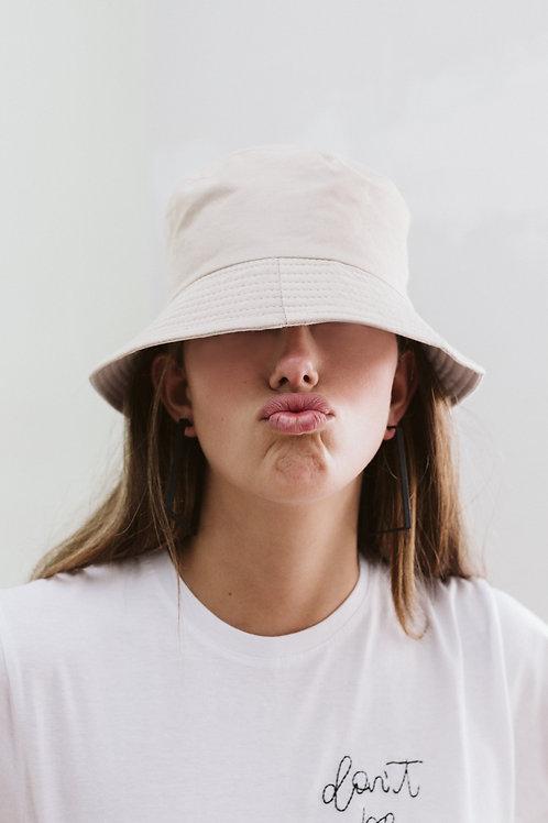 Cream Bucket Hat