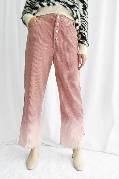 Dip Dye Cords Trousers