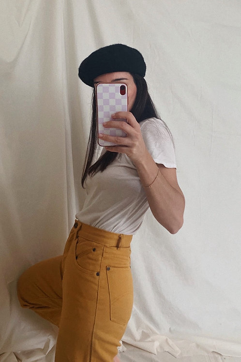 Vintage Mustard Jeans