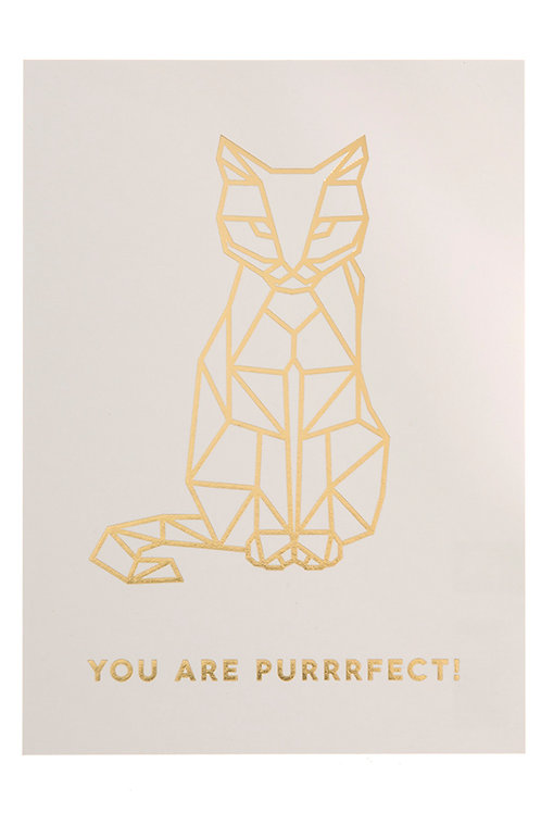 YOU ARE PURRRFECT!