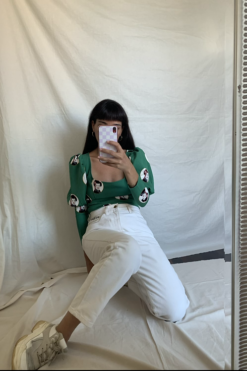 Vintage 90s GUESS Off-white jeans
