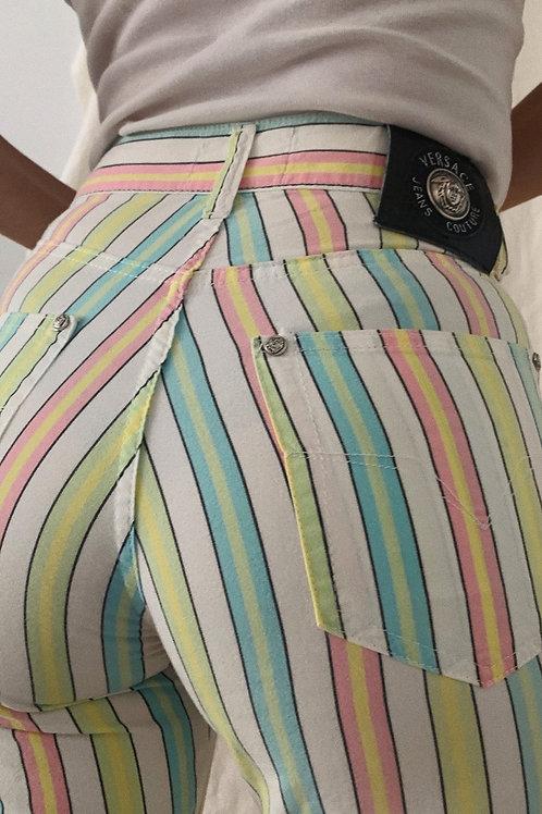 Vintage 90s Y2K 00s Versace Trousers