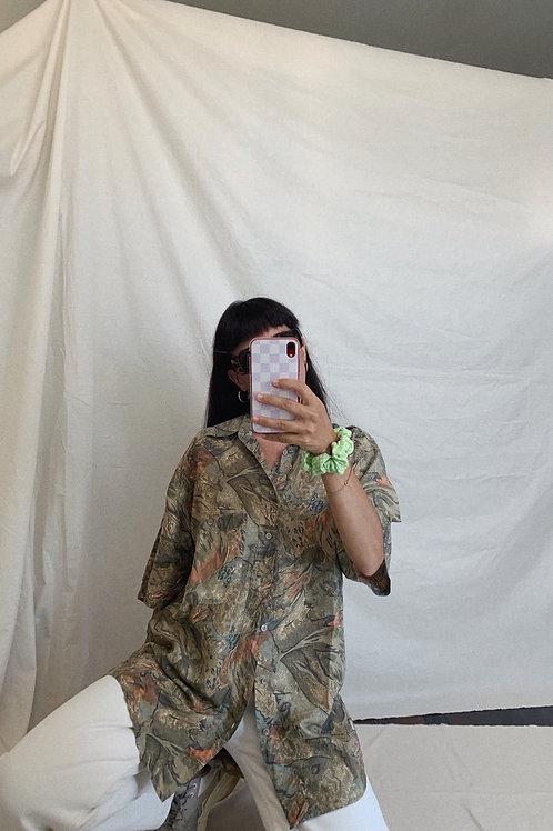 Vintage 90s Silk Shirt
