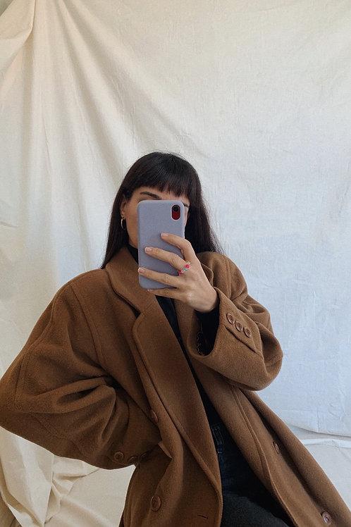 Vintage Cashmere Long Coat