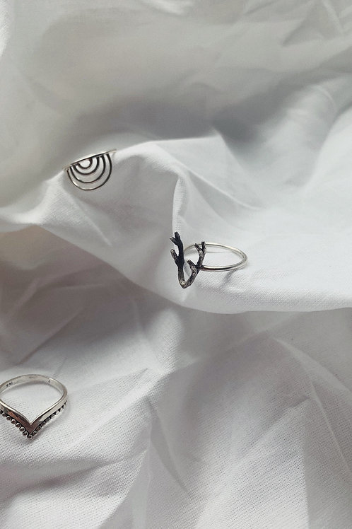 Horns Silver Ring