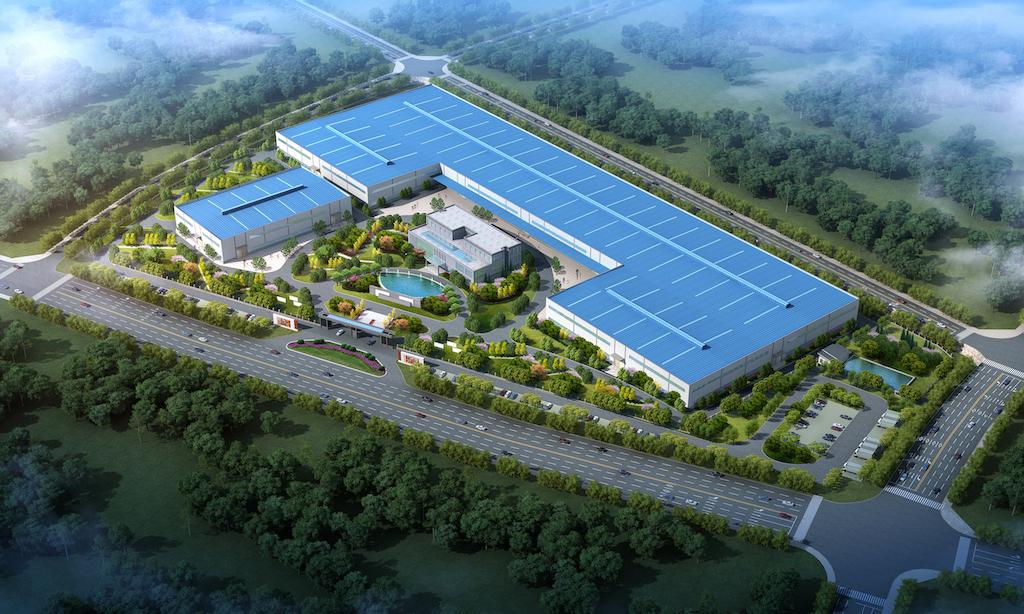 新材料产业园项目效果图1