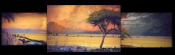 Africa Plains Mural