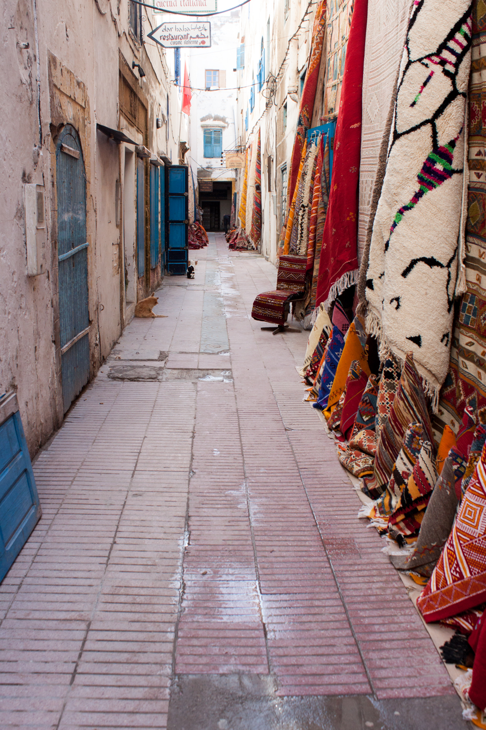 Carpets for sale in Essaouira