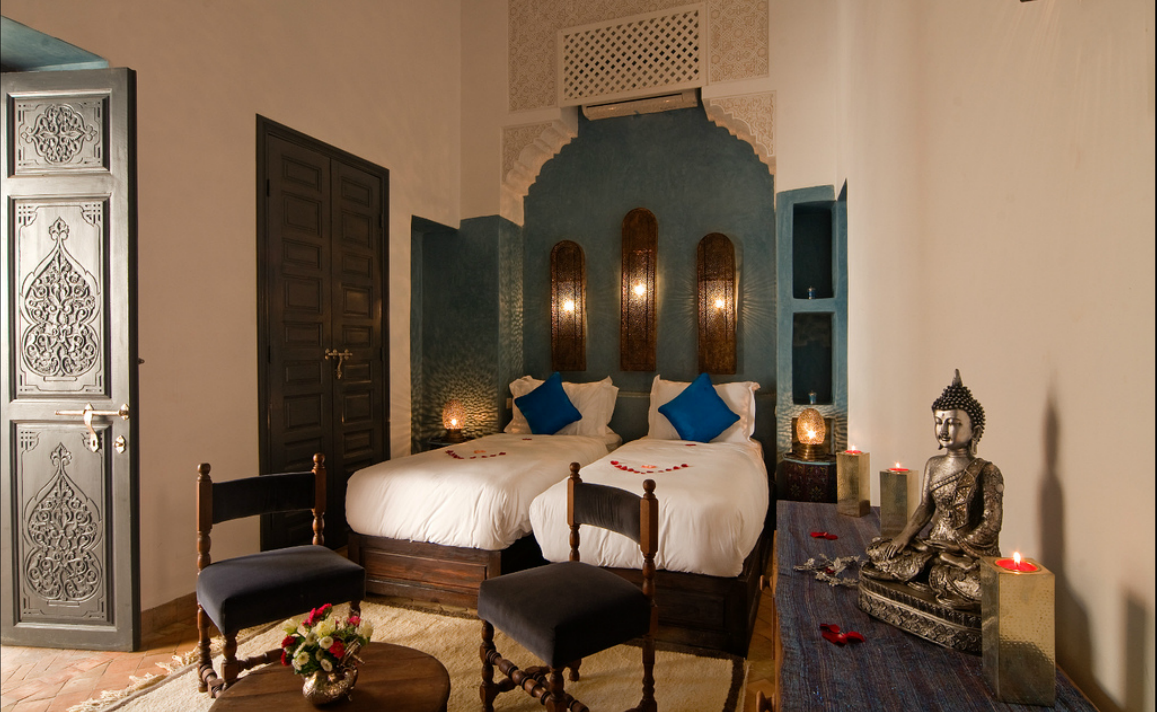 Room option in Marrakech riad