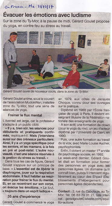 Yoga' coeur joie yoga Hennebont Lorient Morbihan Bretagne senior cours stages formations communication relationnelle
