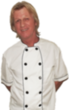 Lumpi Gerhard is the chef of La Taberna Timanfaya restaurant.