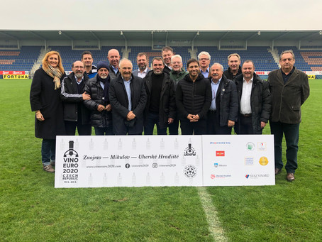 First UENFW - Football European Championship of Winemakers in the Czech Republic